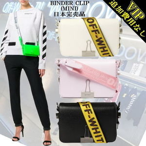 "◆◆VIP◆◆Off-White  ""BINDER CLIP""  MINI Bag / 日本完売品"
