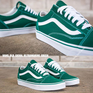 VANS★OLD SKOOL★スウェード&キャンバス★ULTRAMARINE GREEN