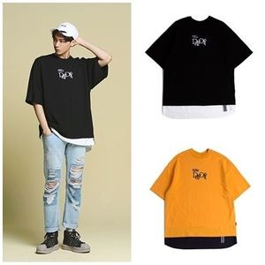ROMANTIC CROWNのunisex Day off Layered T shirt 全2色