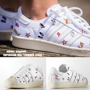 adidas★SUPERSTAR 80s★SUMMER ICONS★刺繍★ユニーク柄