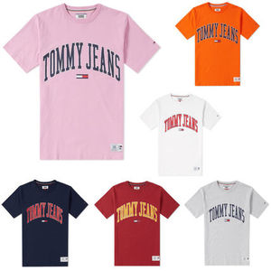 TOMMY JEANS COLLEGIATE TEE トミージーンズ Tシャツ 国内未入荷