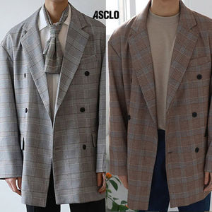 ★ASCLO★ check BL double blazer