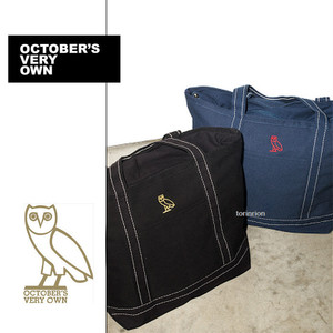 DRAKE OCTOBER'S VERY OWN★OWL トートバッグ★