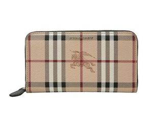 【関税負担】 BURBERRY HAYMARKET ZIP AROUND WALLET