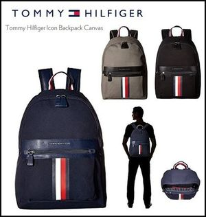 【Tommy Hilfiger】トミーヒルフィガーIcon Backpack canvas