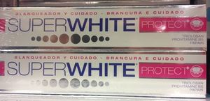 【パリで購入】SUPERWHITE♡Whitening Toothpaste 2本set