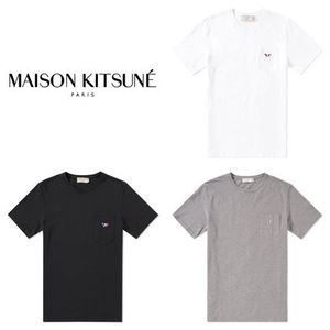 【新作2017SS】MAISON KITSUNE TEE SHIRT TORICOLOR PATCH