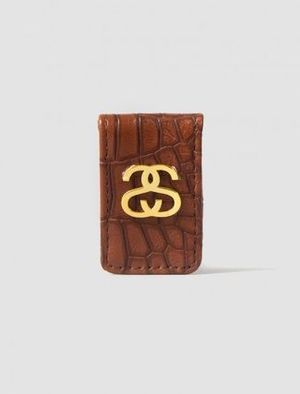 STUSSY (ステューシー) Croc Money Clip