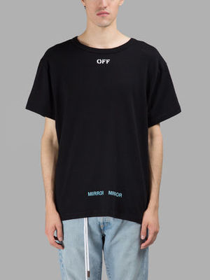 【関税負担】 OFF WHITE 17SS PRINTED T-SHIRTS