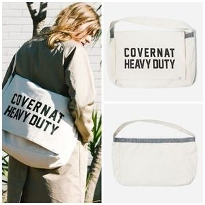 日本未入荷COVERNATのCOTTON CANVAS MAIL BAG