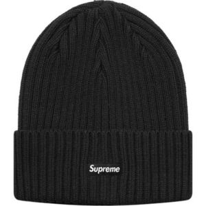 1 week SS18 (シュプリーム) X Overdyed Ribbed Beanie