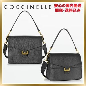 ◇ COCCINELLE ◇ Ambrine Small Satchel Bag  【関税送料込】