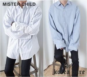 【MISTER CHILD】CALM OVER SHIRTS / ユニセックス