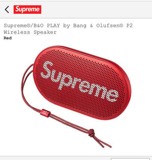 シュプリーム スピーカー Supreme Olufsen P2 Wireless Speaker