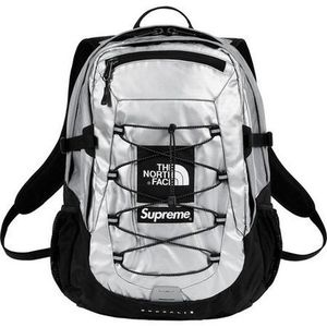 【18SS】Supreme/The North Face Metallic Borealis Backpack