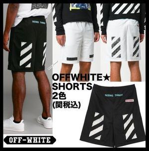 ★イベント/関税込★Off-White DIAG Brushed MESH Shorts 2色