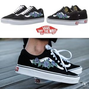 ローズ柄★Vans Old Skool Rose Thorns★バンズ