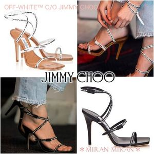 JIMMY CHOO★送料込★OFF-WHITE C/O JIMMY CHOOコラボ/JANE100