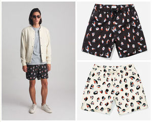 送料込★SATURDAYS SURF NYC Timothy Spots Swim Trunks 水着★