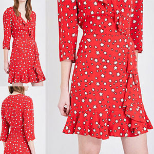 TWICEサナ着用 CLAUDIE PIERLOT: STAR PRINT RING DRESS 国内発