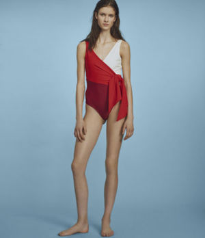 PAPER London - Copacabana Swimsuit Redcoat