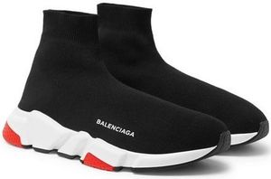 ★関税負担★BALENCIAGA★Speed Sock Stretch-Knit Sneakers