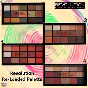 MAKEUP REVOLUTION☆Revolution Re-Loaded Palette アイシャドウ