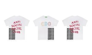 ASSC x CDG コラボレーション Breaking News Colab Tee