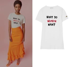 国内発| BELLA FREUD  What Do Women Want Tシャツ