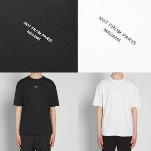 DROLE DE MONSIEUR ドロールドムッシュ NOT FROM PARIS TEE 黒白