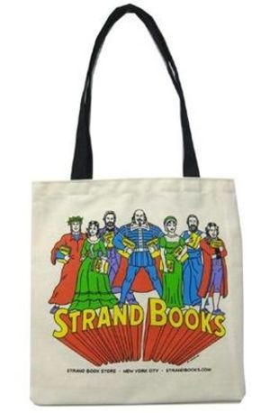 NY人気No.1★送料込み★ STRAND Tote Bag Canvas R. Sikoryak