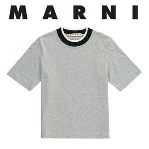 MARNI★大人OK・Rib Trim Collar T-Shirt (4〜14歳)2017AW