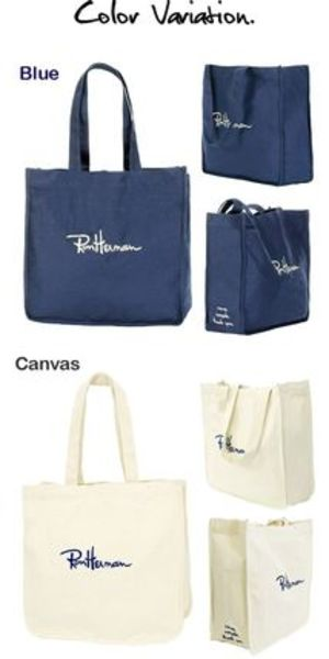 Ron Hermam Exclusive Embroidered Canvas Bag送料込み
