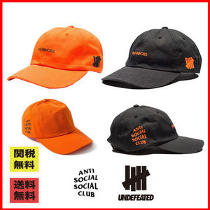 【売り上げ1位】ANTI SOCIAL SOCIAL CLUB x Undefeated /CAP