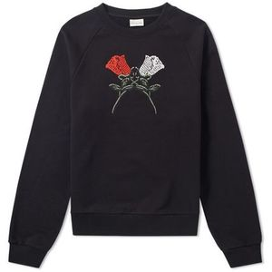 DRIES VAN NOTEN HENRIC ROSE CREW SWEAT