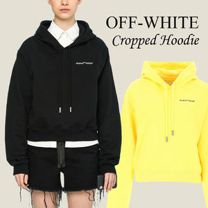 Off-White Cropped Hoodie
