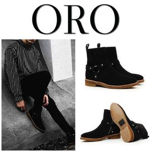 【ORO LOS ANGELES】☆日本未入荷☆ THE NOIR WES-HARNESS BOOTS