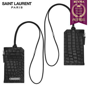 【正規品保証】SAINT LAURENT★18春夏★CARD HOLDER_BLK