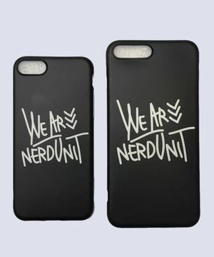 WE ARE NERDUNIT IPHONE CASE - WE ARE NERDUNIT IPHONEケース