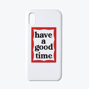【have a good time】Frame iPhoneX用ケース / 関税送料込