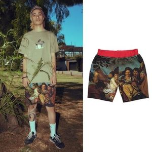 ☆I AM NOT A HUMAN BEING☆ [18SS] BACCHUS PRINT SHORTS - OC