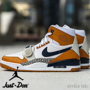 NIKE × Just Don / Jordan Legacy 321 LIGHT BROWN