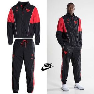 NEW*関込*NIKE NBA CHICAGO BULLS COURTSIDE セットアップ