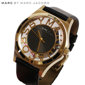 MARC BY MARC JACOBS MBM1246 Henry Skelton GOLD BLACK 腕時計