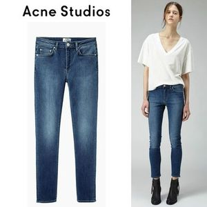 ∞∞Acne∞∞ Skin 5 スキニージーンズ☆Used Blue