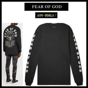 【Fear Of God】Warren Lotas 超オーバーサイズ ロンT black