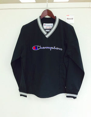 15SS 即発 追尾/関税込☆Supreme×Champion Warm Up Pullover