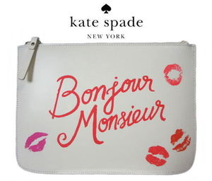 【即発】kate spade gia WLRU21136 merrion square クラッチ
