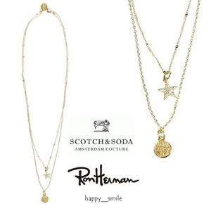 【2015AW】☆Ron Herman☆SCOTCH&SODA☆ 2連ネックレス