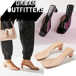 ● Urban Outfitters ●人気 Chrissy クリア ミュール サンダル